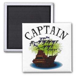 Pirate Captain Magnets