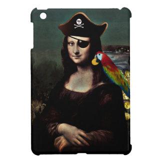 Pirate Captain Mona Lisa iPad Mini Cases