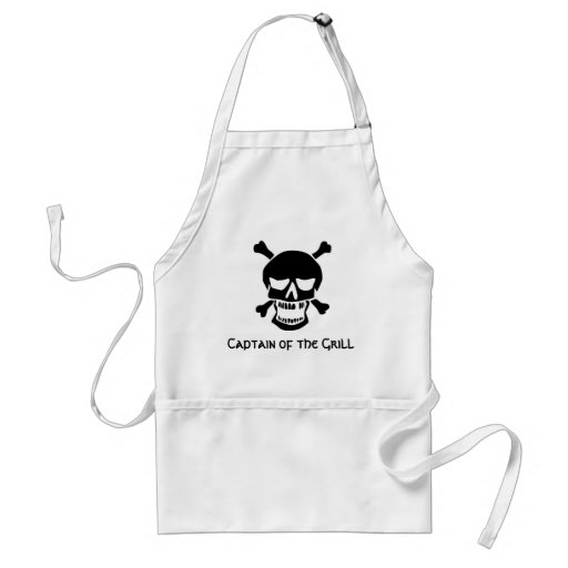 Pirate Captain of the Grill Adult Apron
