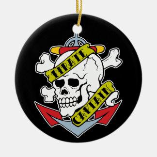 Pirate Captain Ornament