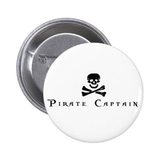 Pirate Captain Pinback Button