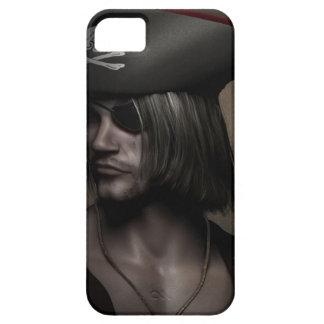 Pirate Captain Portrait iPhone 5 Cover