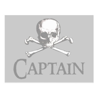 Pirate Captain Post Card
