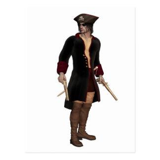Pirate Captain Postcard