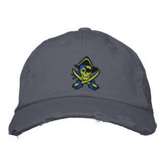 Pirate Captain Skull Embroidered Cap Embroidered Baseball Caps