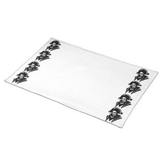 Pirate Captain Skull Place Mats