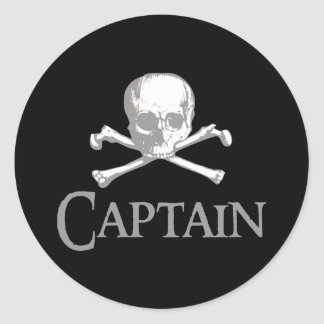Pirate Captain Stickers