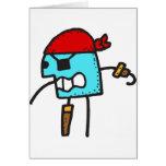 Pirate Cartoon Cards