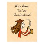 Pirate Cartoon. Postcards