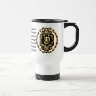 Pirate Casino 1 W/Monogram O Read About Design Travel Mug