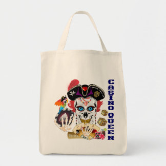 Pirate Casino Queen Important Read About Design Tote Bag