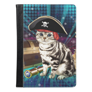 pirate cat iPad air case
