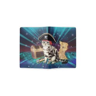 pirate cat passport holder
