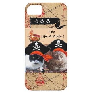 PIRATE CATS ANTIQUE PIRATES TREASURE MAPS AND FLAG iPhone SE/5/5s CASE