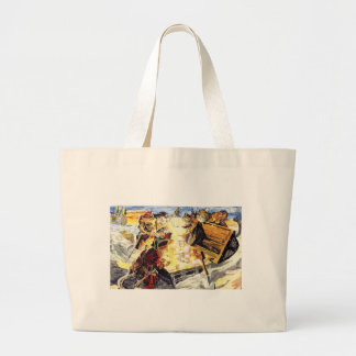 Pirate Cats Canvas Bags