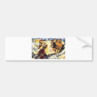 Pirate Cats Bumper Sticker