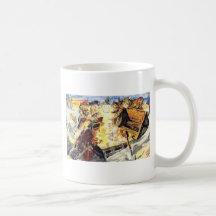 Pirate Cats Coffee Mugs