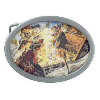 Pirate Cats Find The Loot Belt Buckles