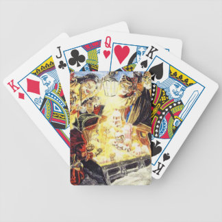 Pirate Cats Find The Loot Bicycle Playing Cards
