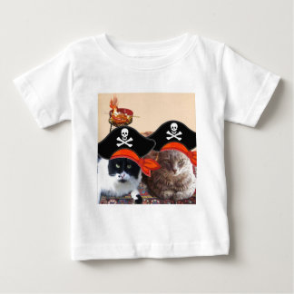 PIRATE CATS ,Talk like a Pirate Day Baby T-Shirt