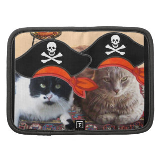 PIRATE CATS ,Talk like a Pirate Day Folio Planner
