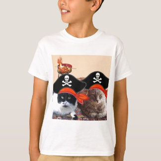 PIRATE CATS ,Talk like a Pirate Day T-Shirt
