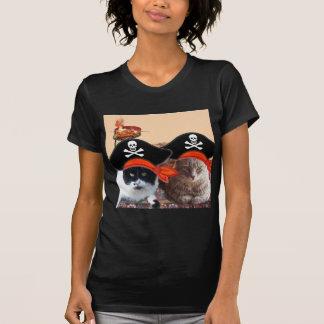 PIRATE CATS ,Talk like a Pirate Day T Shirts
