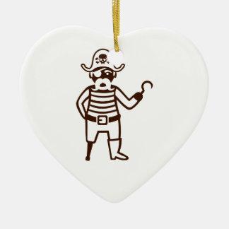 Pirate Ceramic Ornament