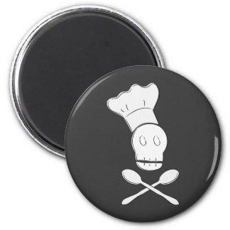 Pirate Chef 2 Inch Round Magnet