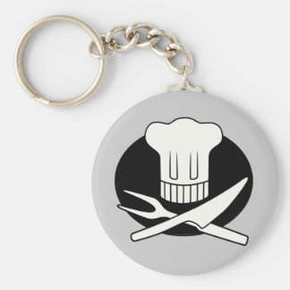 Pirate Chef Keychain