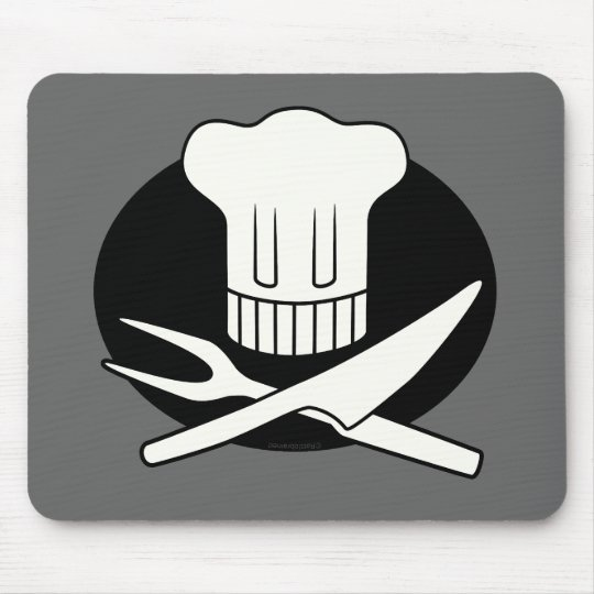 Pirate Chef Mouse Pad