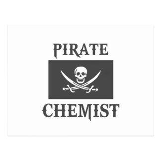 Pirate Chemist Postcard
