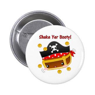 Pirate Chest Button
