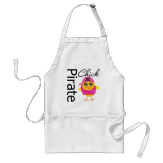 Pirate Chick Adult Apron