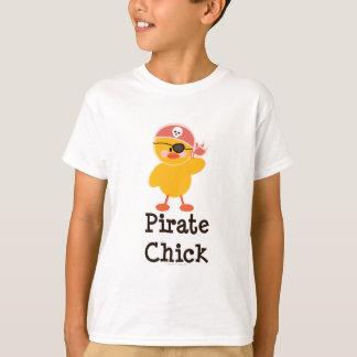Pirate Chick Kids T shirt