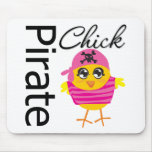 Pirate Chick Mouse Pad