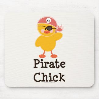Pirate Chick Mousepad