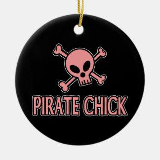 Pirate Chick Ornament