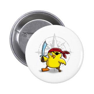 pirate chick pins
