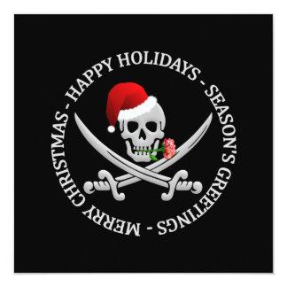 Pirate Christmas invitation - customize