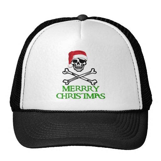 Pirate Christmas Trucker Hat