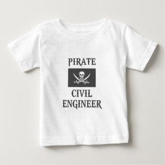 Pirate Civil Engineer Baby T-Shirt