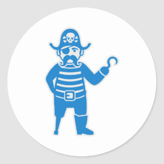 Pirate Classic Round Sticker