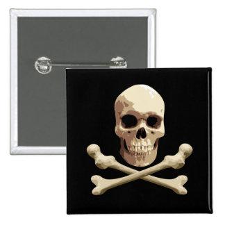 Pirate Club Pinback Button