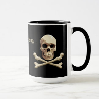 Pirate Club - Skull and Crossbones Mug
