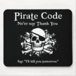 Pirate Code: Thank You Mousepads