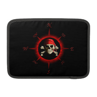 Pirate Compass Rose MacBook Sleeves