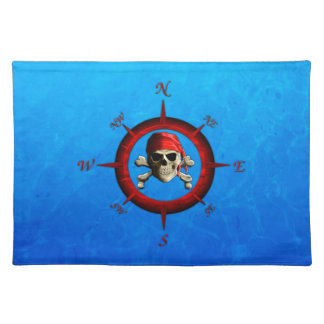 Pirate Compass Rose Placemat