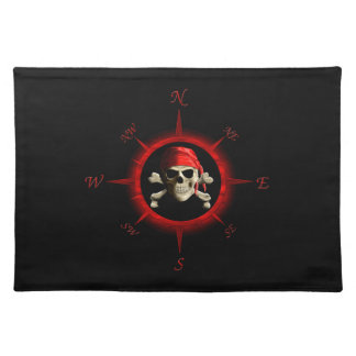 Pirate Compass Rose Place Mat