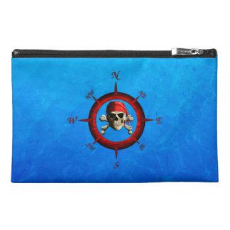 Pirate Compass Rose Travel Accessory Bag